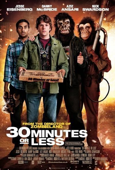 30 Minutos o Menos [30 Minutes or Less] 2011 DVDR Menu Full Español Latino NTSC Descargar