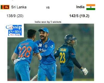 ndia rode on Virat Kohli and Yuvraj Singh's partnership to coast to a five-wicket win over Sri Lanka