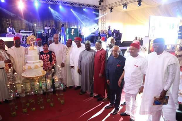 Photos from Ike Ekweremadu wife's birthday celebration in Enugu
