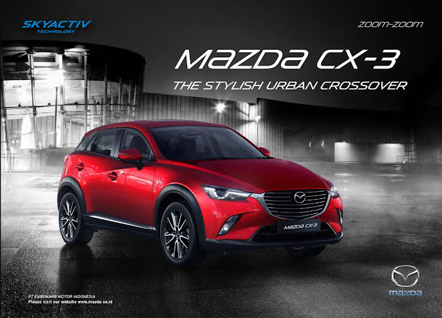Brosur New Mazda CX3