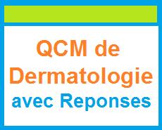 qcm de dermatologie
