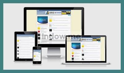 responsive template, blog tempalte, daftar adsense