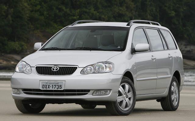 Toyota Corolla Fielder Flex - recall