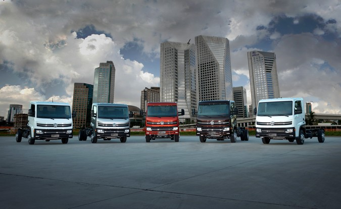 Volkswagen amplia linha Delivery com 6 novos modelos