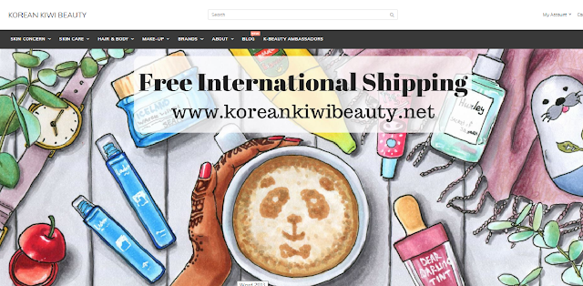 Korean kiwi beauty store