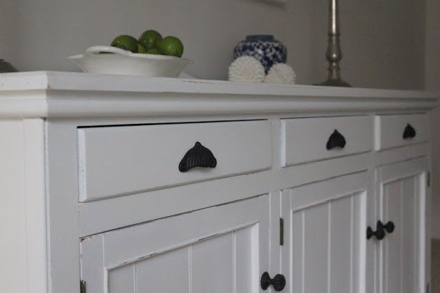 white painted country sideboard lilyfield life