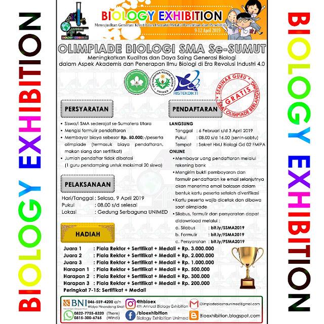 Olimpiade Biologi SMA Sederajat 2019 se-Sumatera Utara