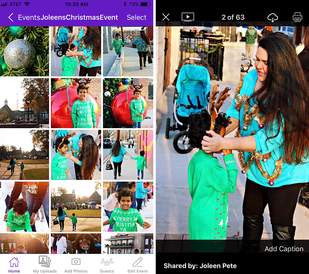 love joleen the best way to share your photos with friends and