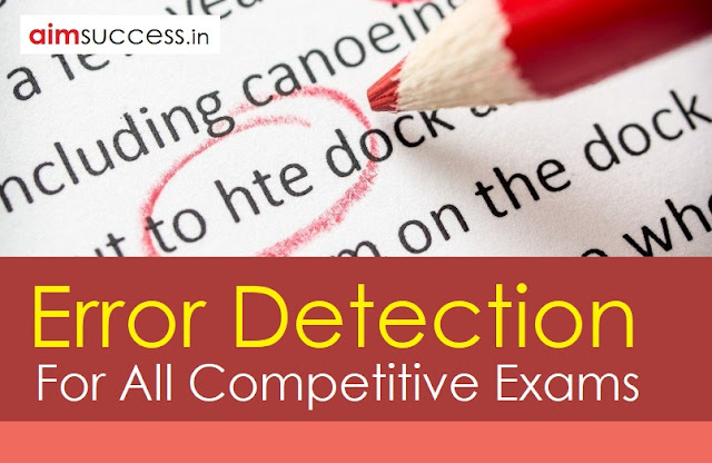 Error Detection for SBI/IBPS RRB 2018: 9 June