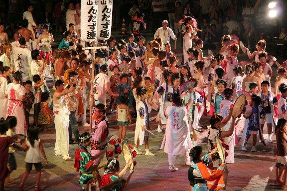 Oishida Matsuri (Fireworks Display) in Yamagata Pref.