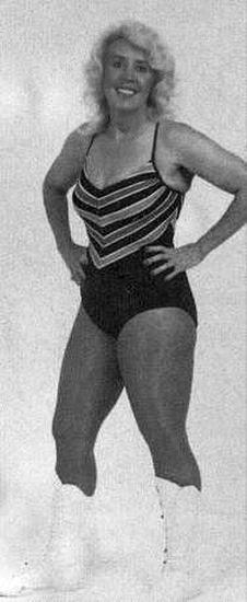 Betty Clarke - Ladies Pro Wrestling