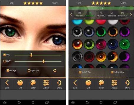 Download Aplikasi Edit Warna Mata Sesuai Selera Untuk Android