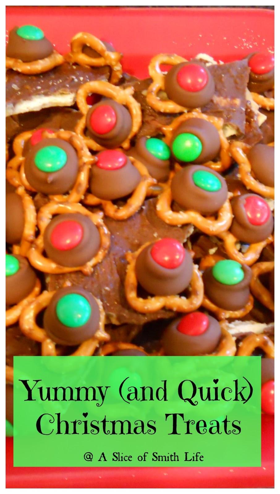 Yummy {and quick} Christmas Treats - Life of a Homeschool Mom