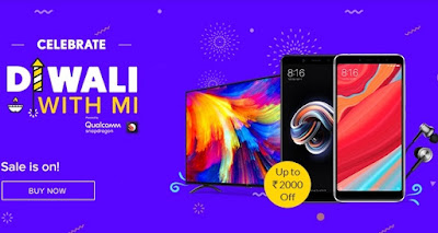 Diwali is the second day with Xiaomi's Mi flash sale sale, and still there will be great deal on the company's phone and other products.