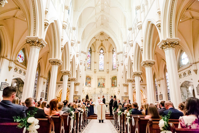 Corpus Christi Catholic Church Wedding Photos Photographed by Maryland Wedding Photographer Heather Ryan Photography