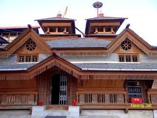 करसोग में ममलेश्वर और कामाक्षा मन्दिर