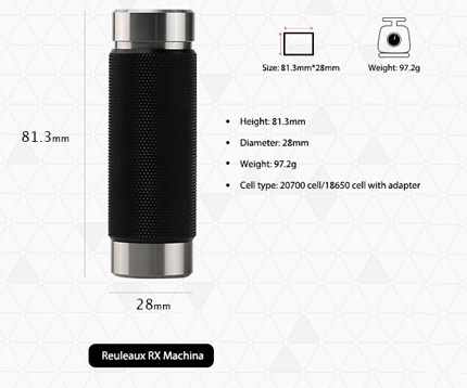 Reuleaux RX Machina VS Sinuous FJ200