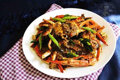 indian roasted crab ayeshas kitchen seafood recipes crab roast