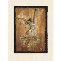 Dance of Joy I, poster art print by Monica Stewart | artpreneure-20