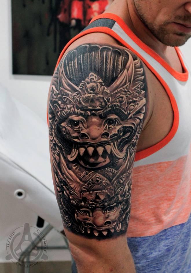12 Motif Tato Bali Keren Bagus Terbaru | Tato Tribal | 3D | Temporer ...