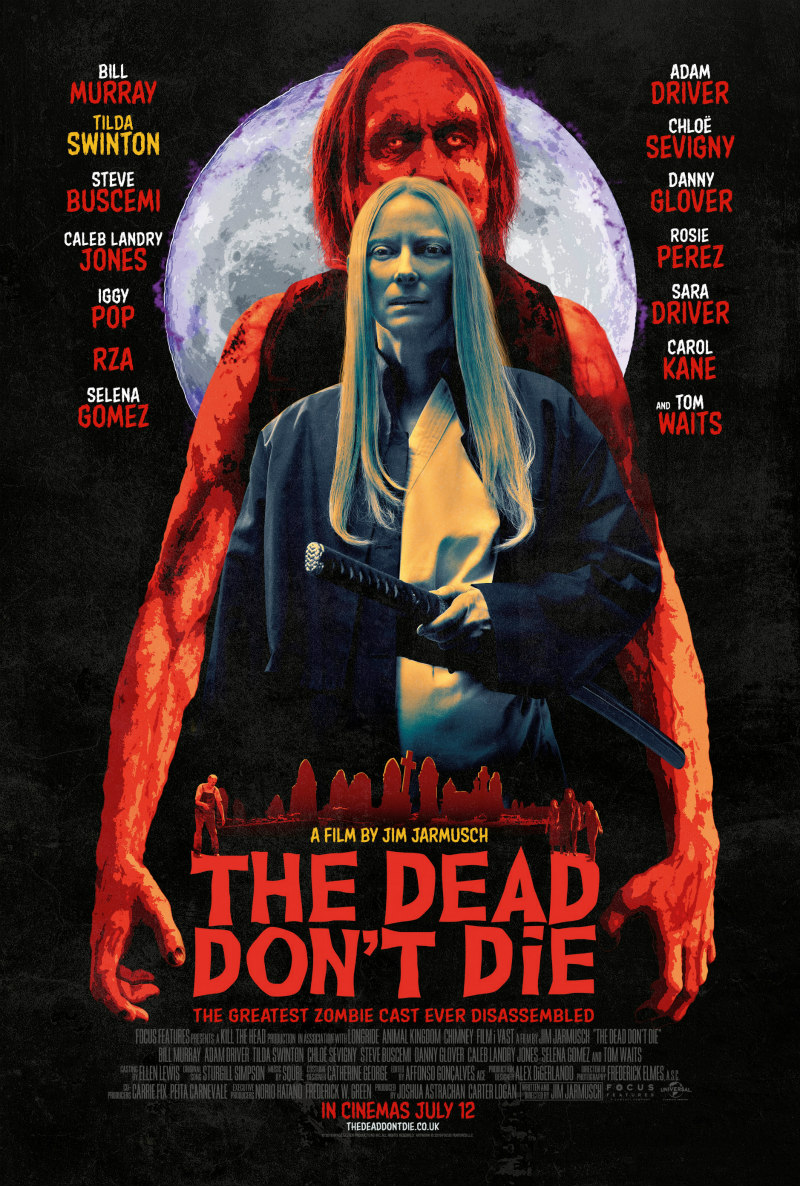 The Dead Don't Die poster tilda swinton