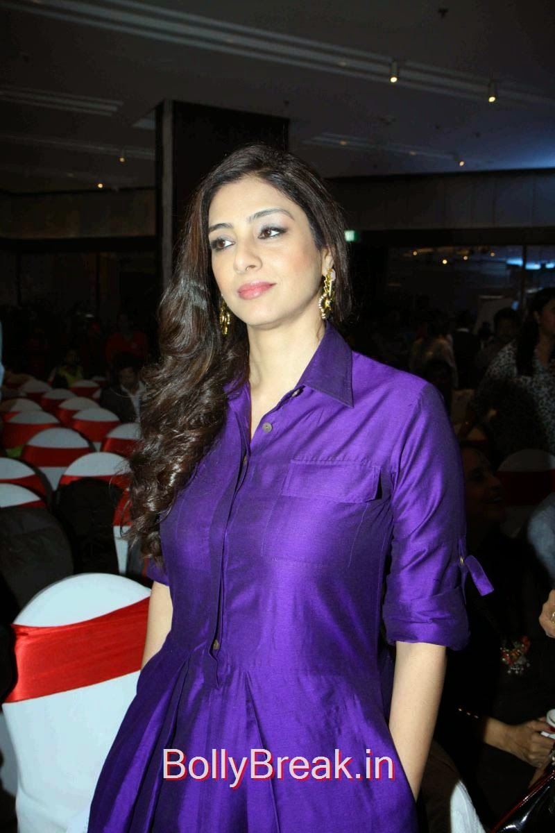 Tabu Photos, Tabu Hot HD Images In Purple Dress from Aaarya Babbar Book Launch