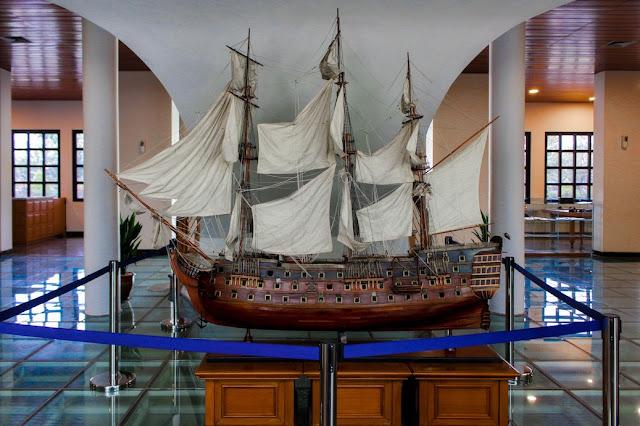koleksi museum maritim indonesia