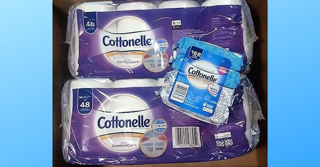 FREE Cottonelle products in the mail