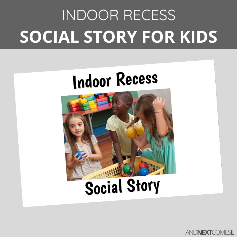 Printable social stories for kids