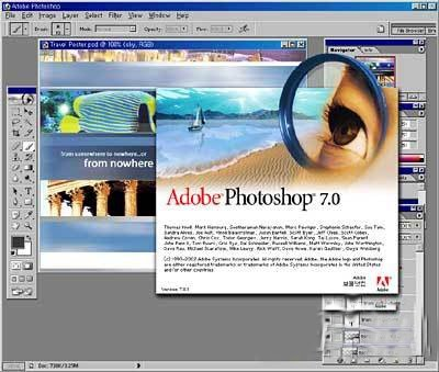 Download Adobe Photoshop 7.0 Free Image