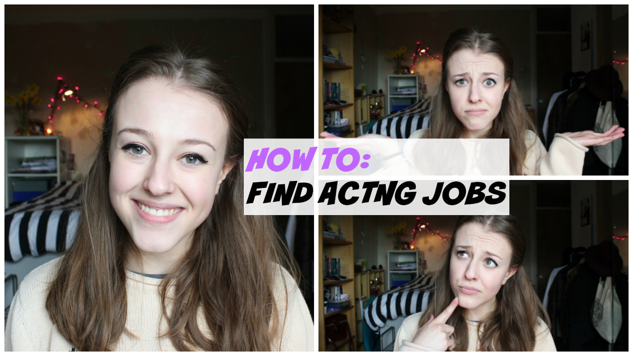 how to find acting jobs
