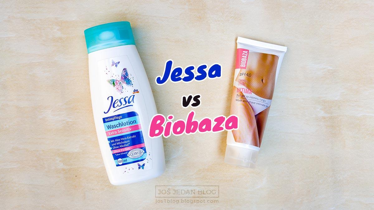 Jessa losion zai ntimnu negu vs Biobaza Intima dva u jedan gel, upoređivanje, recenzija, utisci