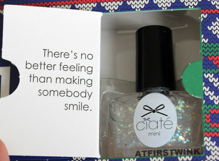 Ciaté Mini Mani Month 2013 calendar - door 1