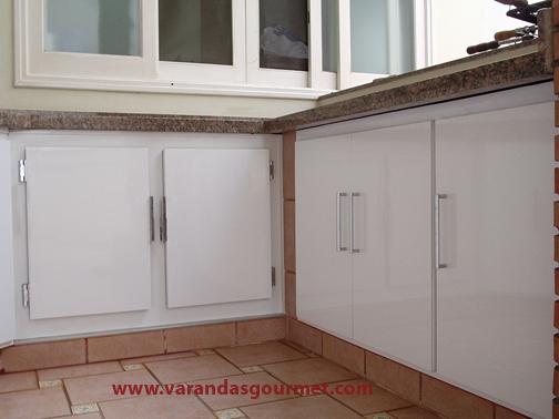 Balcão refrigerado 2 portas + armários