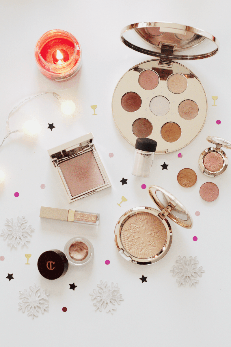 champagne, gold and rose gold favourites