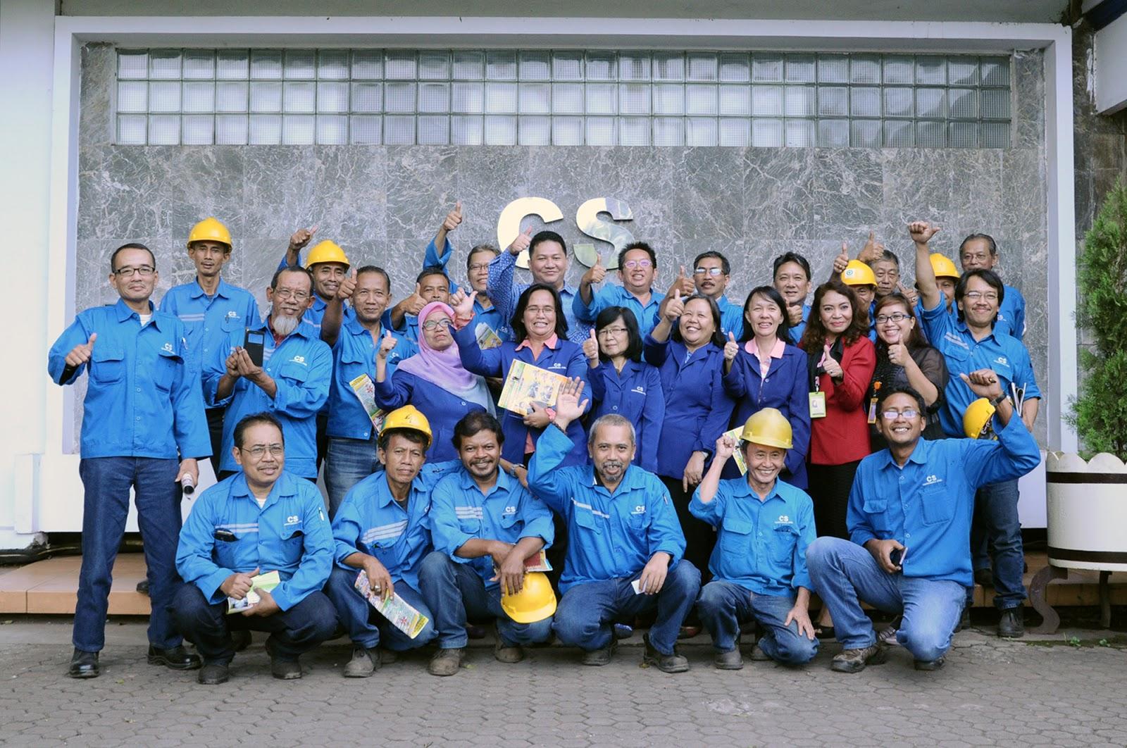 Seminar Pensiun di PT Jakarta Cakratunggal  Steel Mills