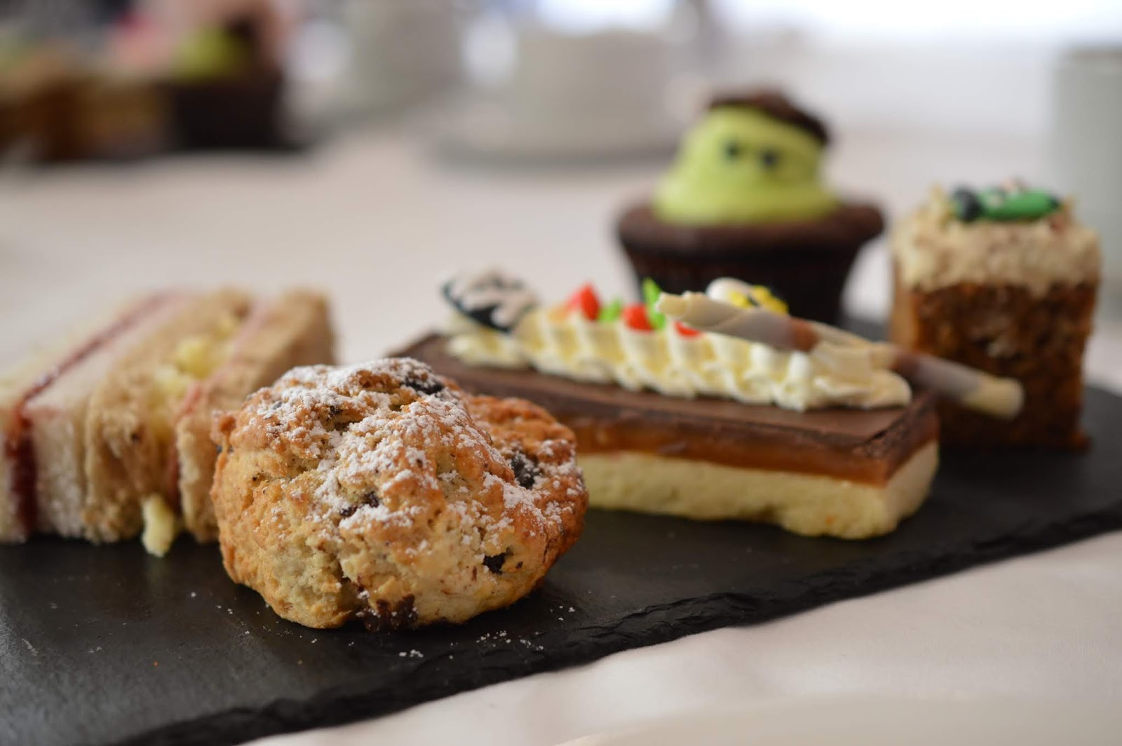 10 Reasons to Stay at Matfen Hall in Northumberland with Kids  - children's afternoon tea