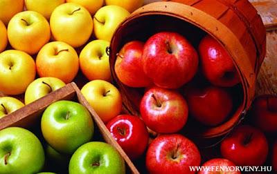 Gyógyítás gyümölcsökkel: Alma (Pyrus malus)