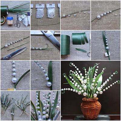 Palmiye Çİçek Yapımı
