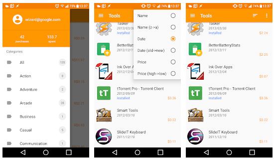 تعرف على الفلوس التي دفعتها في جوجل بلاي لشراء التطبيقات والألعاب بتطبيق بسيط جداً