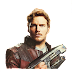 PNG Star Lord (Senhor das Estrelas, Chris Pratt, Guardians of the Galaxy: Vol 2)