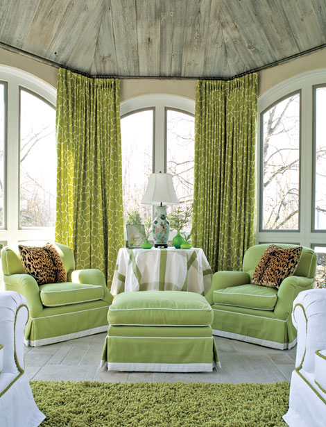 Lisa Mende Design Lawrence Boeder Makes Me Lime Green