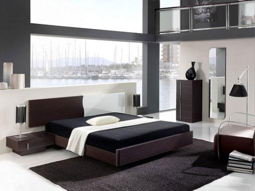 desain kamar tidur dan furniture rumah minimalis
