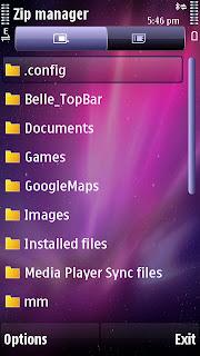 Aplikasi zip manager nokia symbian
