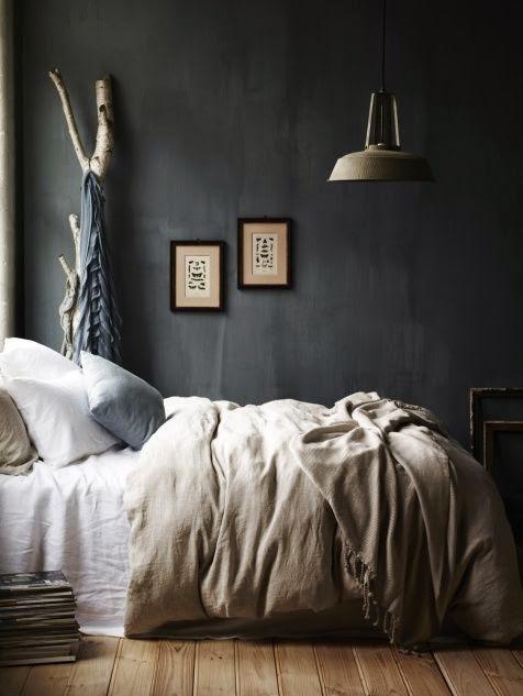 La Fabrique A Deco Peindre La Chambre En Noir Ou En Gris Astuces