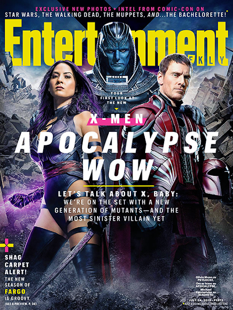 X-Men: Apocalypse - EW Cover