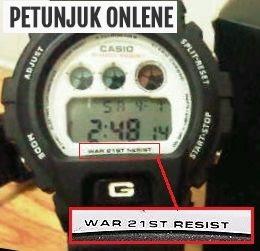 Contoh Jam Tangan Casio KW