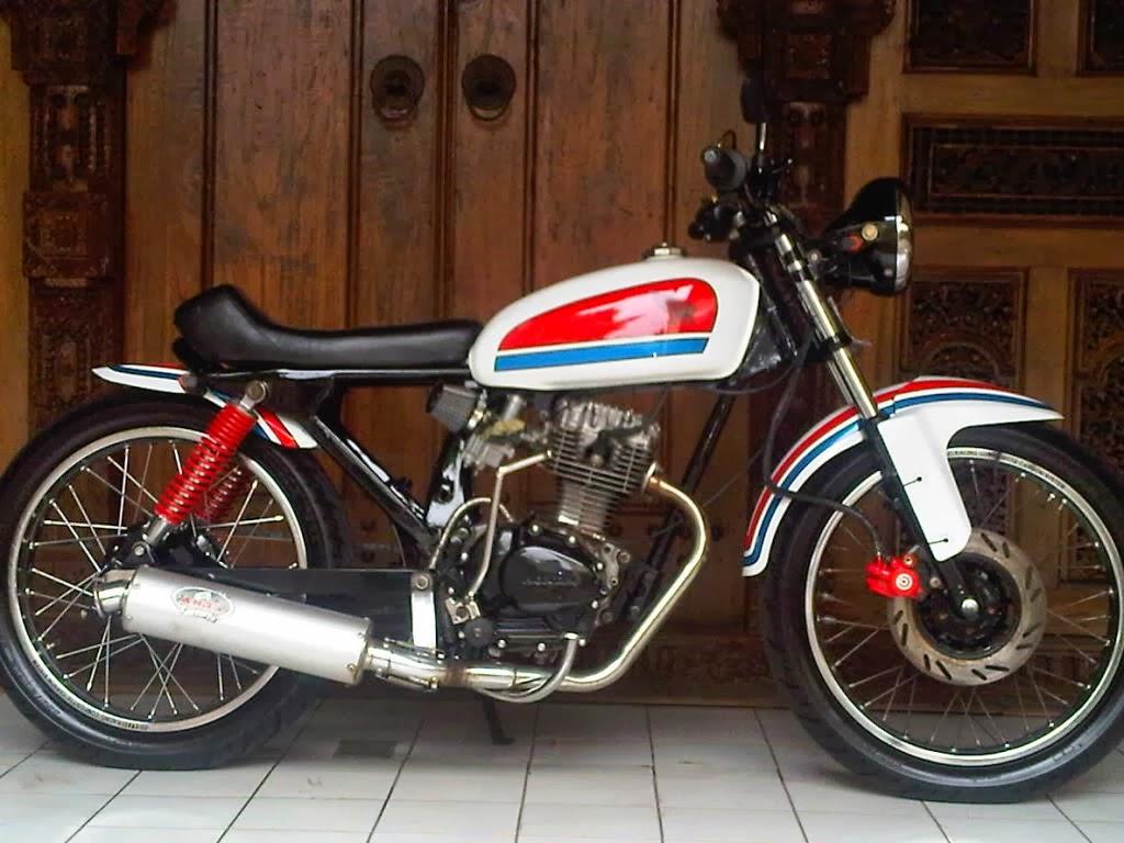 Gambar Modifikasi Motor Honda Gl 125 Terbaru Pecinta Modifikasi