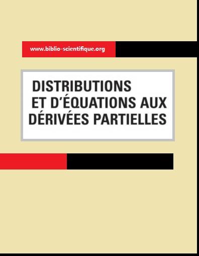Livre :  distributions et d'équations aux dérivées partielles PDF