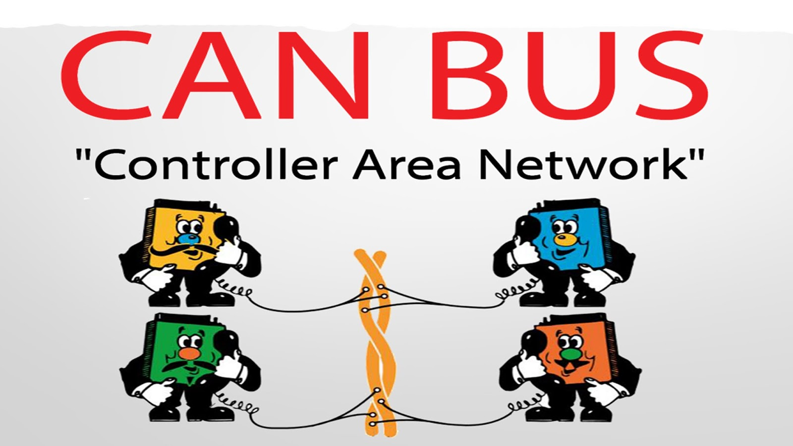 Computer Cancampus Area Network Sher Ali Vehicle Wiring Can Bus Bosch Originally Developed The Controller In 1985 For Networks Past Automotive Manufacturers Connected Electronic
